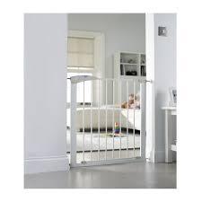 Baby Stairgate Lindam Sure Shut Axis White Stairgate Kiddicare Com