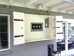 outdoor tv cabinet enclosure outdoor tv cabinet outdoor cabinets protecting your outdoor outdoor