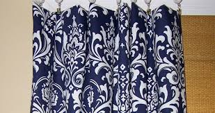 Blue And White Home Decor Curtains Navy Blue Curtains For Your Living Room Amazing White
