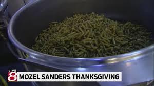 mozel sanders thanksgiving