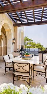 Mediterranean Patio Old World Mediterranean Italian Spanish - Italian backyard design