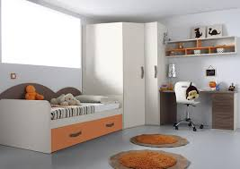 acheter votre lit gigogne avec bureau et armoire d angle chez simeuble