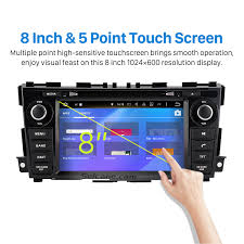 nissan altima 2013 radio w navigation and touch screen inch android 6 0 radio gps navigation dvd player for 2013 2014