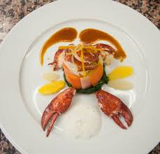 chartreuse cuisine lesson 5 lobster chartreuse w candied orange lemon and frothy jus