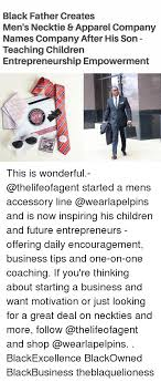 Black Fathers Day Meme - black father creates men s necktie apparel company names company