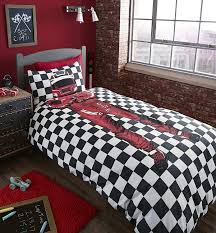 catherine lansfield racing driver single quilt set multi colour