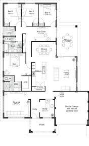 house plans modern one story floor housemodern small free plan