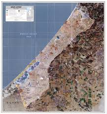 Map Of The Strip West Bank And Gaza Maps Perry Castañeda Map Collection Ut