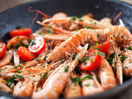 cuisine langouste plancha langoustine à la plancha nos recettes de langoustine à la plancha