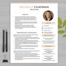 resume templates for educators 720 best resume images on cv template page layout and