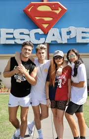 Seeking Honey Cast Geordie Shore Cast Scream With Terror On A Rollercoaster As They