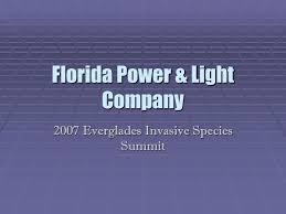florida power light ppt florida power light company powerpoint presentation id