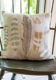 ties the plume together pillow achieve a naturally cohesive vibe