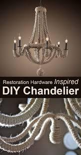 String Chandelier Diy Best 25 Metal Chandelier Ideas On Pinterest Hanging Candle
