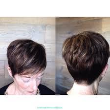 best highlights for pixie dark brown hair short textured pixie cut dark hair light blonde caramel highlights