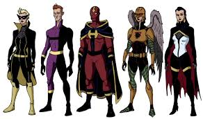 Falcon Halloween Costume Crime Syndicate Mockingbird Extruded Man Crimson Hurricane