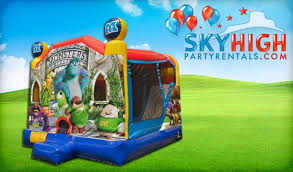 monsters university inflatable slide houston sky party rentals