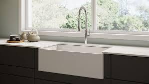 Black Apron Front Kitchen Sink by Black Farmhouse Kitchen Sink Victoriaentrelassombras Com