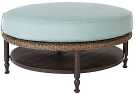 patio furniture with ottomans hton bay bolingbrook round outdoor patio furniture ottoman coffee