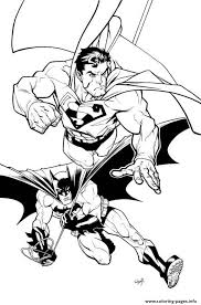 superman batman coloring page3f76 coloring pages printable