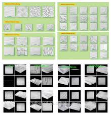 big size home decor 3d wallpaper eco friendly with the embossed