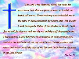Thy Rod And Thy Staff Comfort Me Psalms 23 Kjv Kristi Ann U0027s Haven