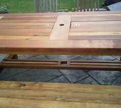 Cedar Patio Table Patio Table Reclaimed Cedar E U0026 R Carpentry