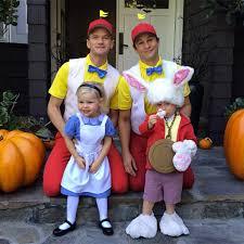 Tweedle Dee And Tweedle Dum Costumes See Neil Patrick Harris U0027 Best Family Halloween Costumes
