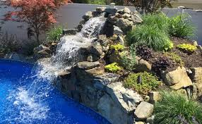 diy pool waterfall diy pool waterfall ideas design idea and decorations diy pool