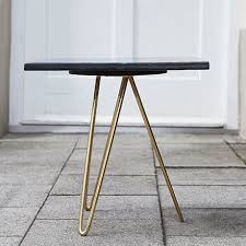 Tripod Side Table Colorful Ceramic Tripod Side Table Schlicht Designmöbel