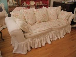 Shabby Chic Slipcovered Sofa Vintage Chic Furniture Schenectady Ny Shabby Chic Slipcovered