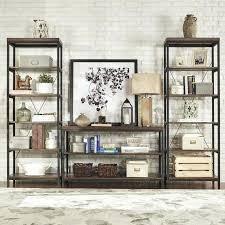 Small Rustic Bookcase Bookcase Barnes Six Shelf Modern Bookcase Dark Wenge By Small