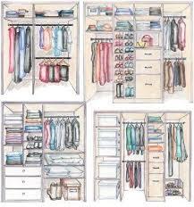 placard rangement chambre quelles dimensions pour un dressing bien organisé dimensions