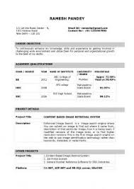 Resumes Samples In Word Format by Free Resume Templates Basic Samples For High Students 1
