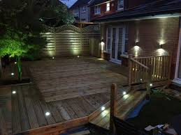 Backyard Patio Lighting Ideas by Wonderful Decking Solar Lights Ideas 141 Deck Solar Lighting Ideas