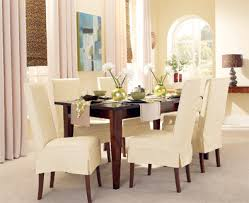 Slipcover Dining Room Chairs Dining Room Chair Slipcovers Designs And Styles Collections