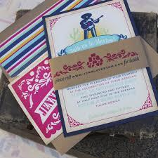 mexican wedding invitations serendipity beyond design