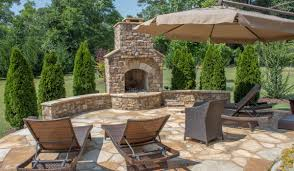 Slate Rock Patio by Quality Landscape Supply Kennesaw Ga Stone Forest Stone