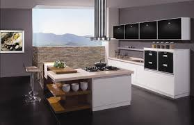 Modern Island Kitchen Designs 2015 Kitchen Modern Small L Shaped Kitchens Design Ideas Using Wooden Fancy Granite Counter Top Plus Modern Chairs Also Black Cabinets And Shelves Also Black