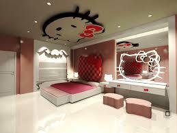 Bedroom Design For Girls Pink Hello Kitty Dreamful Hello Kitty Room Designs For Girls Amazing Architecture