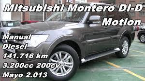 mitsubishi montero di d motion manual diesel 141 716k 200cv en
