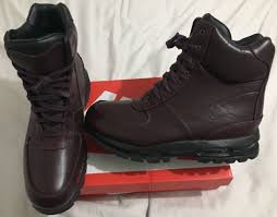 s winter hiking boots size 12 nike air max goadome 6 wp burgundy 806902 660 sz 12 boots