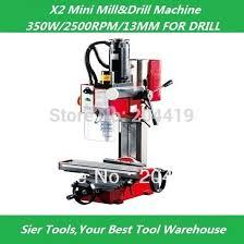 fraiseuse sieg x2 x2 mini mill perceuse sieg 220 v 350 w micro forage machine dans