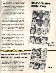 1976 ben cooper catalog universal monsters halloween costumes