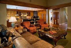 Traditional Livingroom by 20 Stunning Earth Toned Living Room Designs Home Design Lover