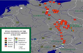 Wwii Map Of Europe by End Of World War Ii In Europe Military Wiki Fandom Powered By
