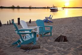 Recycled Plastic Furniture South Beach Ultimate Recycled Plastic Adirondack Chair Polywood