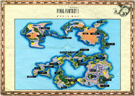 Ff6 World Of Ruin Map by Ff1 World Map Roundtripticket Me