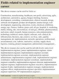 Sample Resume Network Engineer by Download Implementation Engineer Sample Resume