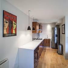 Uma Floor L Uma Longa Bancada Http Www Decorfacil 55 Cozinhas Em L